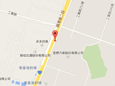 北高雄漢神巨蛋商圈_三明車行美利達專賣店地圖