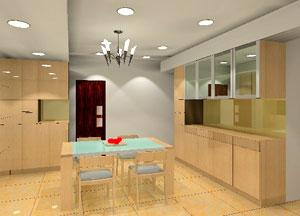 九十度廚具系統櫃,品質有保障。