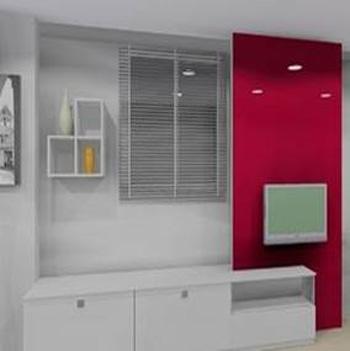 運用系統家具、系統櫃、廚具滿足生活機能,使空間獲得充分利用。
