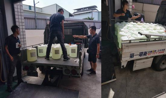 氣態二氧化氯抗菌劑(ClO2)大批出貨至食品廠,食品安全關乎消費者的健康。