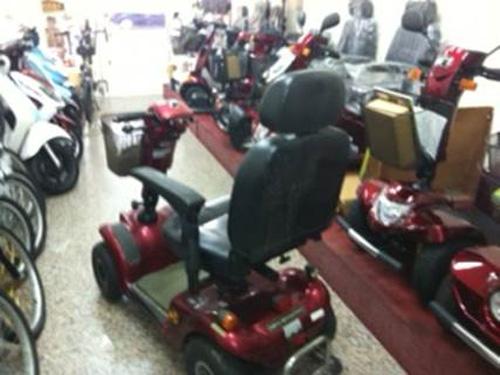 高紅電動車會依客人的身形、習慣、使用環境來推薦適合的車款。