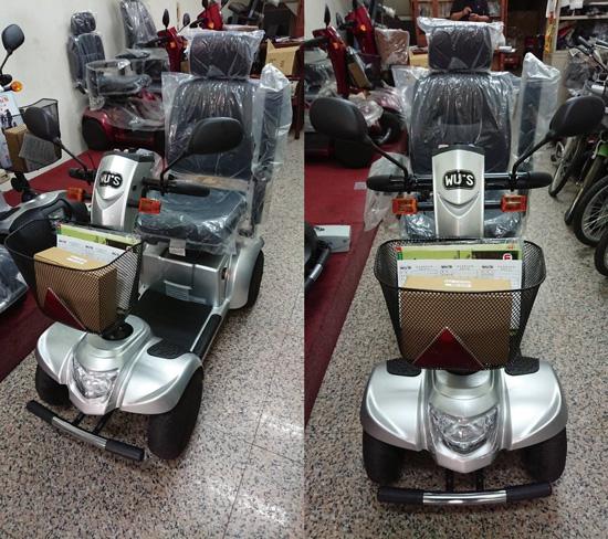 不少客人是跨區到高雄左營區的高紅門市購買電動代步車!