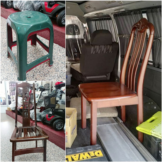高紅電動代步車的救援神椅,是許多長輩最安心的依靠。