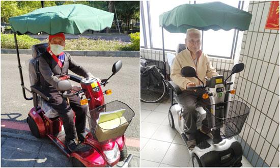 騎電動代步車享受行動自由的生活,拒當宅老人!