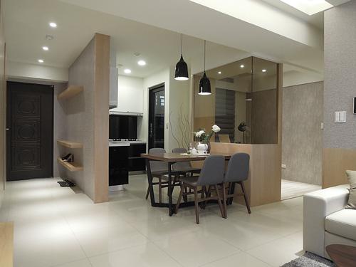 蘊含巧思的室內設計,在小坪數空間創造最大的使用效益及視覺美感。