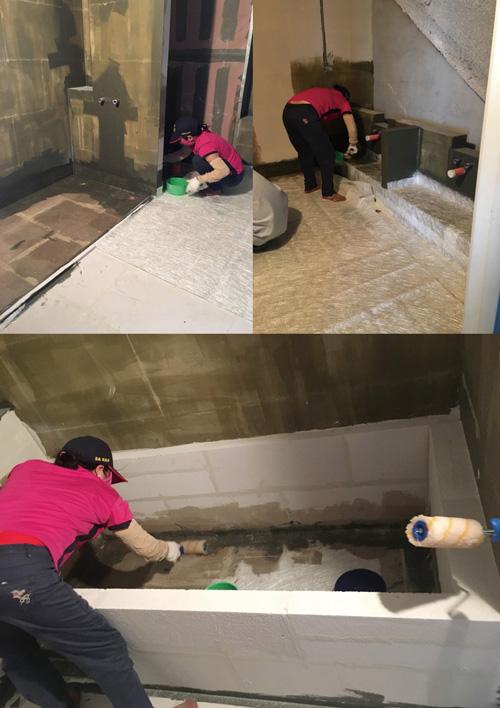 浴室是坪數最小、防水學問最大的地方,也是基礎工程非常重要一環。