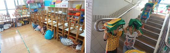 地震來了怎麼辦?跟著乖寶貝幼兒園老師這樣做就對!