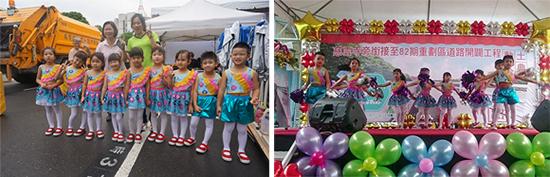 乖寶貝幼兒園優秀的大班孩子們,在台上自信熱舞,各界長官都說讚!