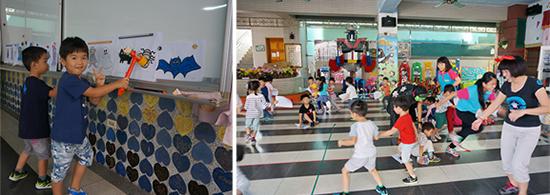 乖寶貝幼兒園萬聖節新玩法!將反應力及肢體協調訓練,高明地融入於遊戲中!