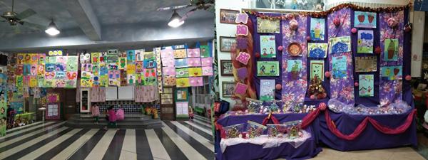 期末作品成果展:看見孩子的想像力!運用各種素材創作,成果豐碩!