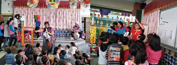 新春團拜樂無窮,老師與孩子們互動超有戲。