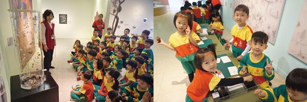 豐富、有趣的解說與展示,「實地體驗」滿足孩子的好奇心。