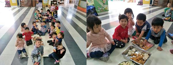 野餐日開動啦!都是幼幼班喜歡的零食和食物呢!