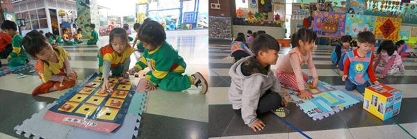 老師依主題活動及年齡層設計多元、豐富的教具,學到滿滿的知識。