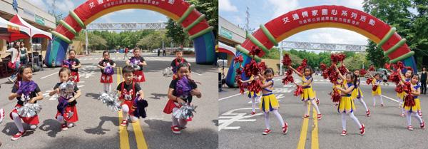 舞蹈動作、神情超到位,孩子自信滿分!高雄市區監理所所長頒發感謝狀。