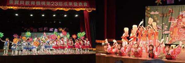 表演中場串連毫無冷場,呈現活潑、生動的熱情寶島。