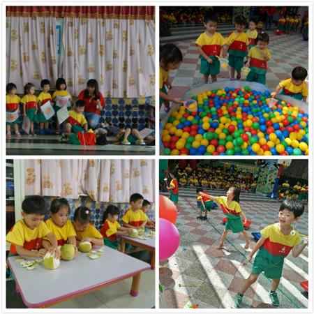 今年中秋節,乖寶貝幼兒園超級好玩,戲劇演出與競賽遊戲,趣事一籮筐。