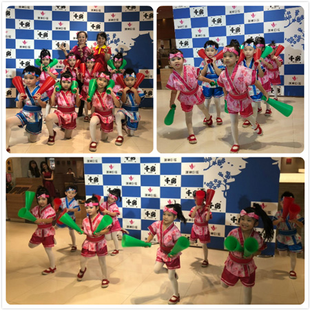 踩著輕盈步伐,快快樂樂舞蹈!很難想像他們都是第一次参加開幕表演呢!