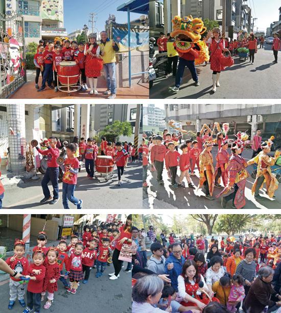 舞龍舞獅、三太子出巡…猶如嘉年華般的踩街遊行,吸引一群人搶沾喜氣。