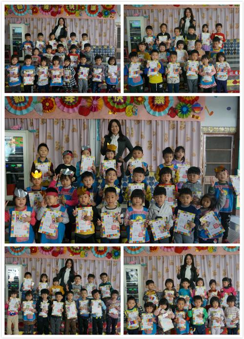 乖寶貝孩子不只愛上閱讀,也能輕鬆念出書中文字。