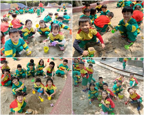 無拘無束的大沙坑,幼兒園孩子超級愛!