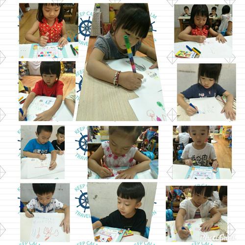 手繪課程不只是學才藝,更重要是培養孩子組織能力。
