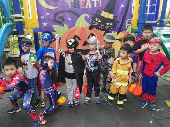 超級英雄大集合!我們是童心園幼兒園SuperMan。