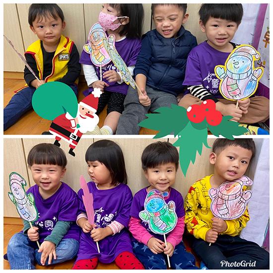 瞧瞧~這是童心園幼兒園孩子設計獨一無二的精靈雪人棒!