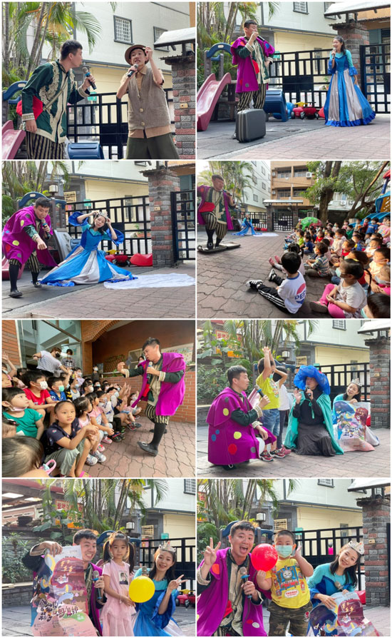 豆子劇團表演結合東西文化創意,帶給幼兒園小朋友一場特別的故事想像之旅!