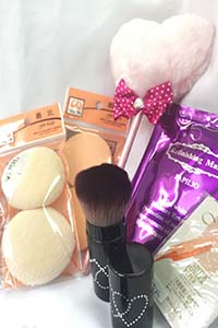 高雄,美妝保養,化妝品,保養品,美肌保養品,美麗秘境,海綿,粉撲,唇筆刷,刷具,美妝道具,美妝工具
