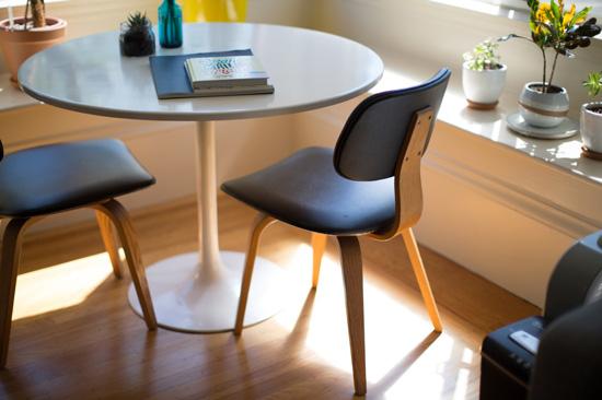 人文風格的時尚書房,並彈性預留未來在空間設計需求。
