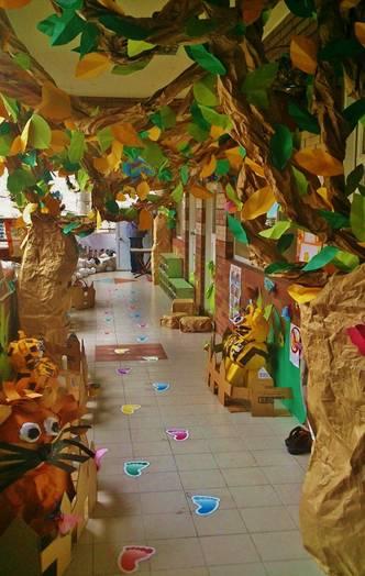 幼儿园主题墙饰设计海洋闽南美食