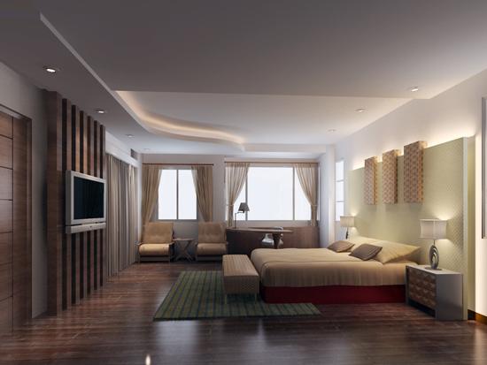 臥房通風、透氣、採光佳,高雄銘墅室內設計團隊創造人與空間和諧共處的氛圍。