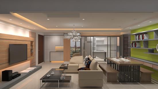 高雄銘墅空間設計團隊提供優質的室內設計規劃,建構符合自己想要的住宅小天地。