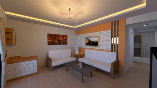 以大量的白搭配原木色調,勾勒出指壓按摩館典雅、溫暖的室內設計主軸。