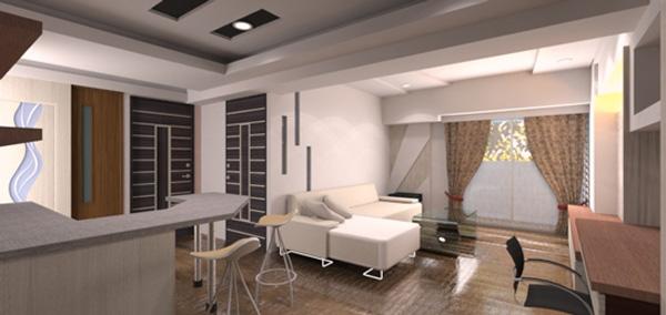 生活就是室內設計的一部分,「環保建築」綠建築讓空間有著自在的流動性。