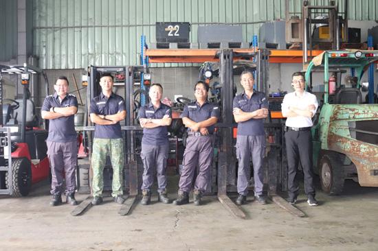 專業維修保養團隊,三菱堆高機服務最到位。