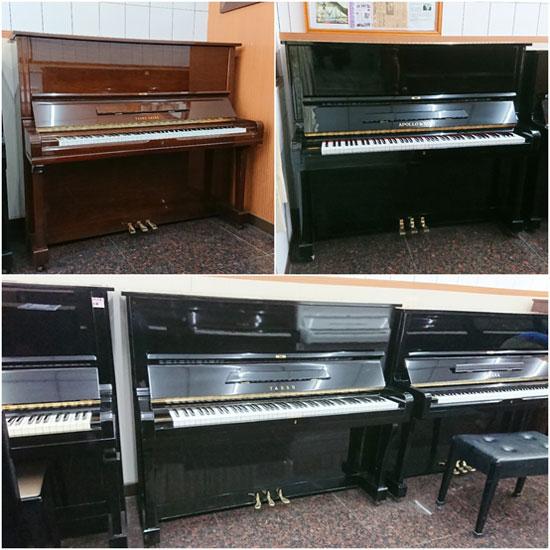 小品牌中古鋼琴,購買價格更親切迷人,最低甚至不到3萬元。