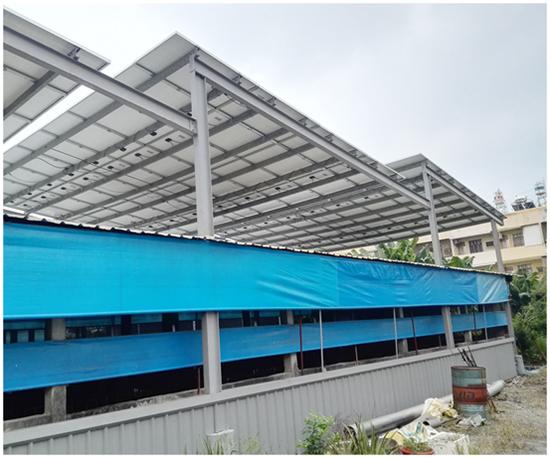 豬舍屋頂種電要先評估主結構是否堅固,再決定如何施工。