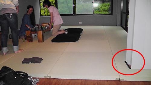 榻榻米床手绘图