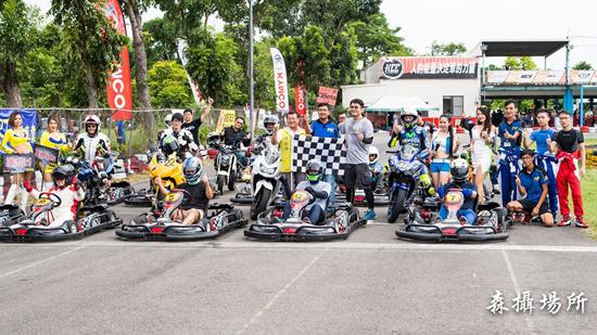 「高雄TKS賽車場」親子同樂的好去處~各系列小型卡丁賽車等著你來挑戰!