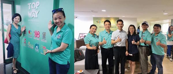「中華海峽兩岸EMBA南區聯合分會」蒞臨仲威文創進行參訪、交流,親身體驗文創產業的魅力。