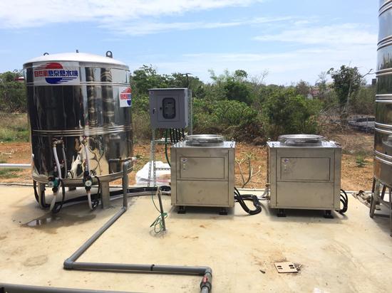 安裝自然風熱泵熱水器~節約能源讓你看得見。