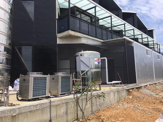 對抗多雨季節的最佳幫手~自然風熱泵熱水器兼顧節能省電和安全穩定。