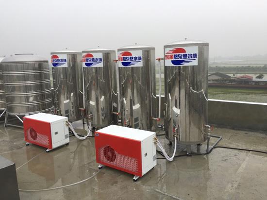 24小時熱水不間斷的自然風熱泵,給民宿老闆無與倫比的省電好感度!