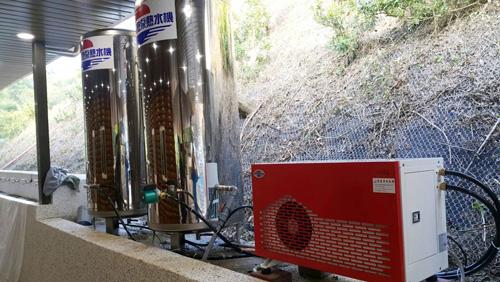 自己的電、自己省!自然風空氣能熱水器節電效果驚人。