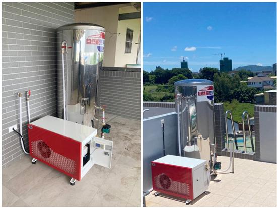 透天、獨棟的住戶,有足夠的空間擺置,對『熱泵熱水器』接納度最高。