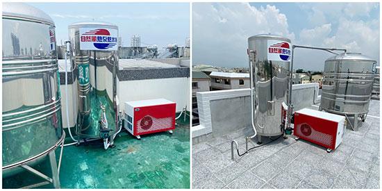 自然風熱泵熱水器受歡迎,小家庭及豪宅用戶數持續增加。