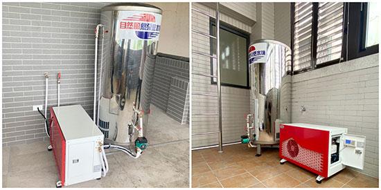 台灣製造!自然風熱泵零件100%在地生產。