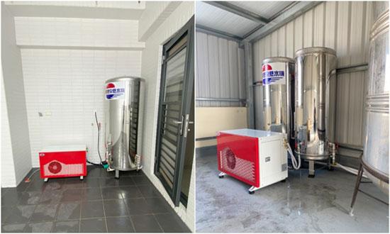 自然風熱泵熱水器經得起寒冬嚴苛考驗!